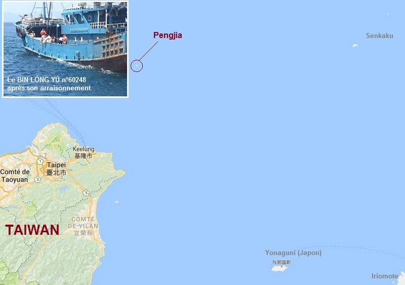 Garde-côtes taiwanais Carte15