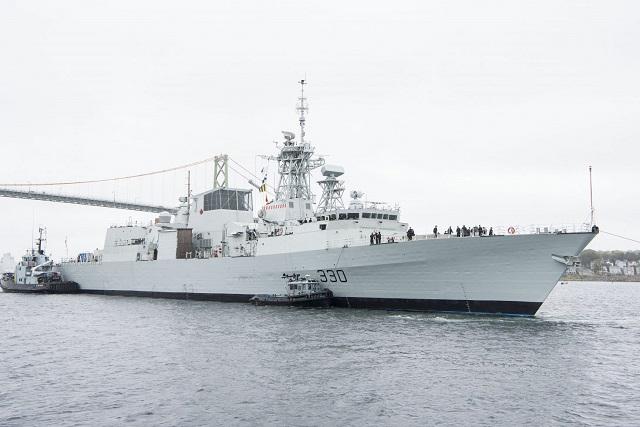 Frégates de la classe Halifax Hmcs-h10