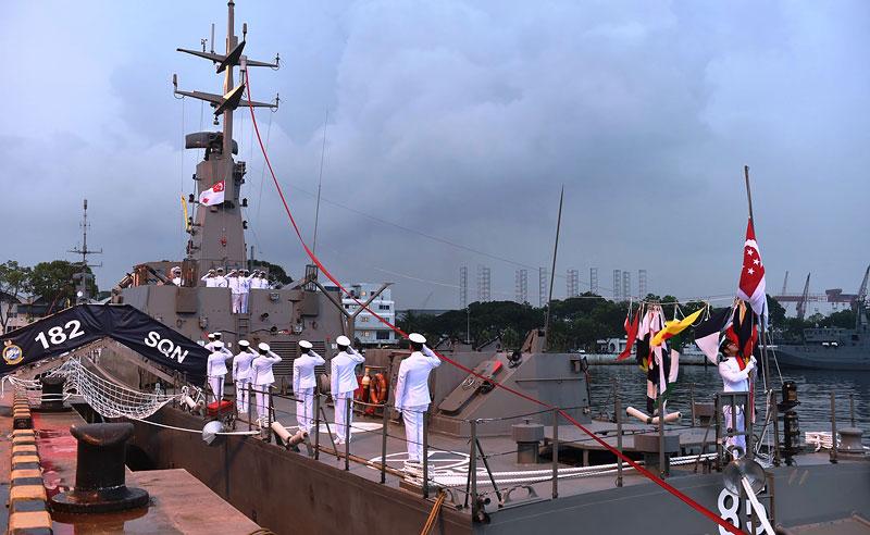 Marine singapourienne Singap10
