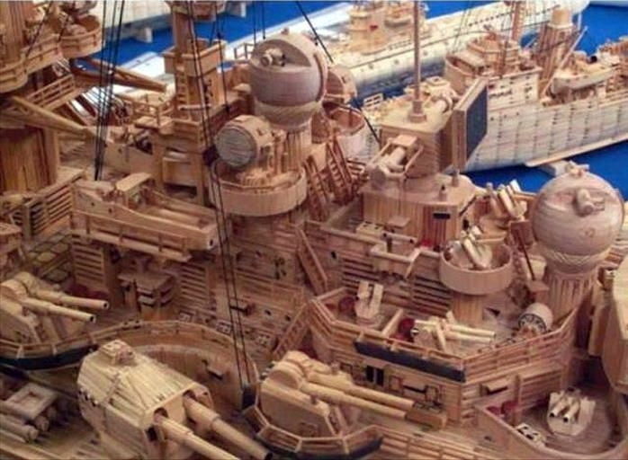 71 000 allumettes pour un Tirpitz Tirp410