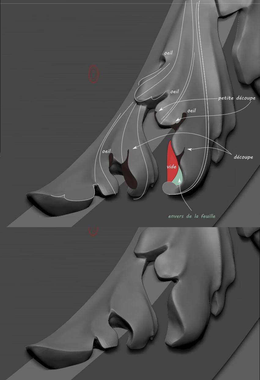 Brouillons: quand la sculpture virtuelle remplace l'argile Acanth10