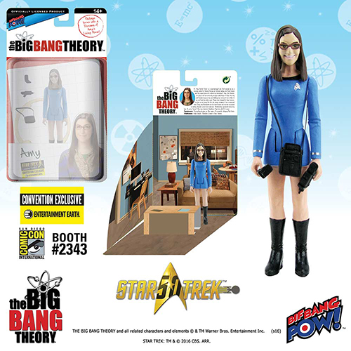 Figurines Big Bang Theory en personnages Star Trek Amy10