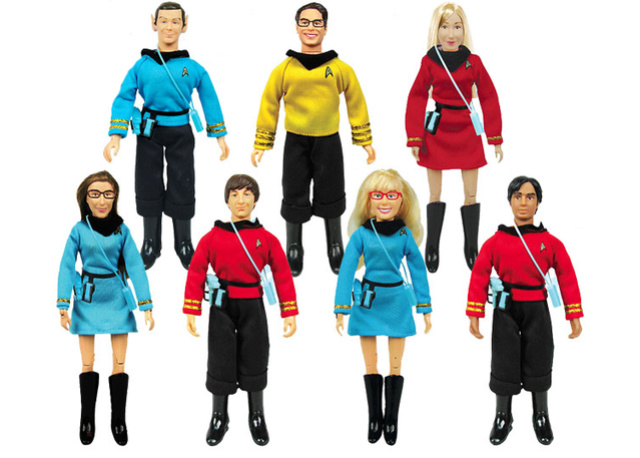 Figurines Big Bang Theory en personnages Star Trek Conten10