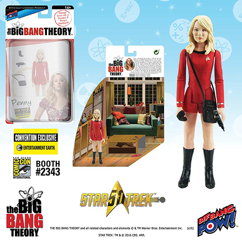 Figurines Big Bang Theory en personnages Star Trek Penny210
