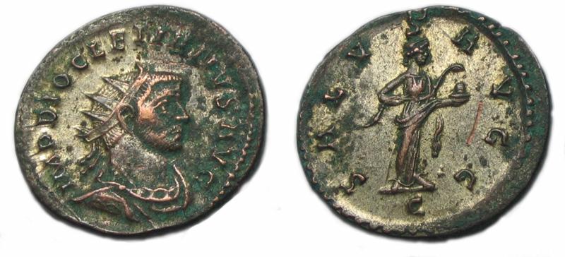 Aureliani de Lyon de Dioclétien et de ses corégents - Page 10 Ant06910
