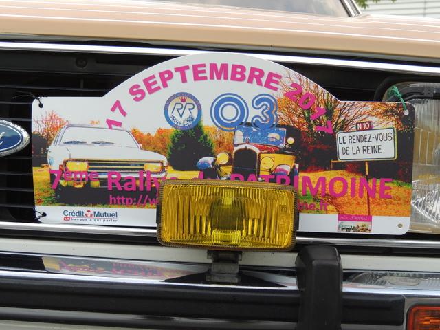 7ème Rallye du Rendez-Vous de la Reine le 17 septembre 2017 Dscn0920