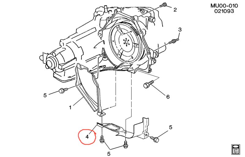 Recherche cache sur BVA Pontiac Trans Sport 4924310