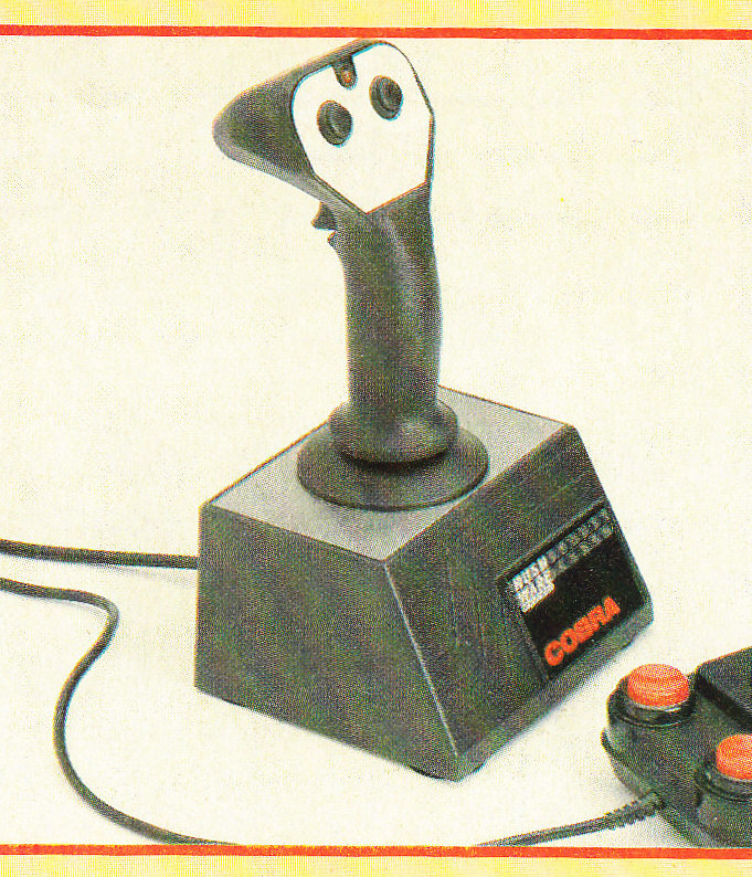 les joysticks oldschool en prise DB9 Cobra11