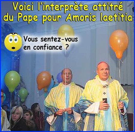 Le Pape aurait demandé au Cardinal Schönborn : - « Est-ce que Amoris Laetitia est orthodoxe ? » Ballon10