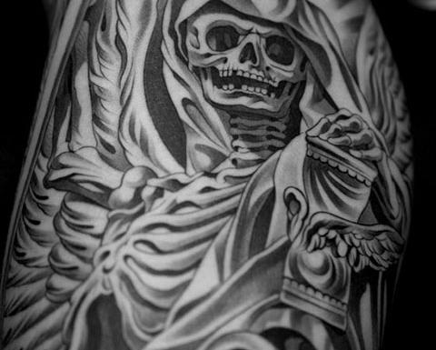 SONDAGE : Avez-vous des tattoos sur votre corps ? - Convertissez-vous, nous demande Jésus ! Black_10