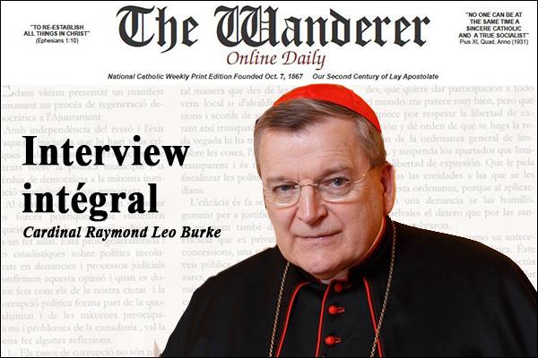 Cardinal Burke - Interview intégral ! Burke10