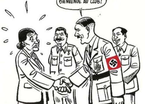 Alain Escada et Civitas déplorent le torrent d'éloges décernés à l'avorteuse Simon Veil ! Hitler10