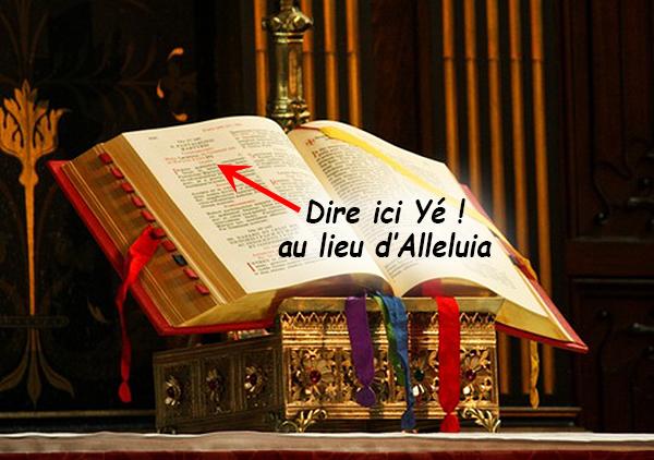 Falsification de la Liturgie. Dieu l'avait annoncé à Maria de la Divine Miséricorde ! Missel10