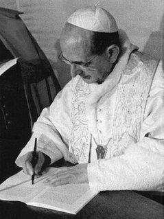 Ces Hommes du Pape contre Humanae Vitae ! Paul-v10