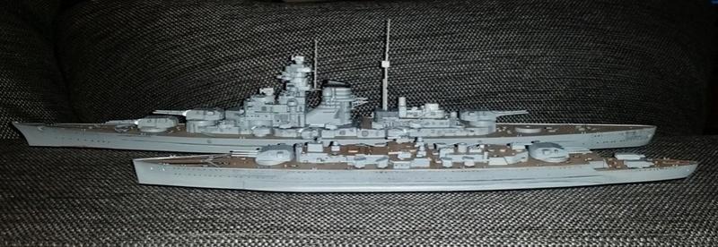 Flotte allemande 1/700  Trumpeter 20170715