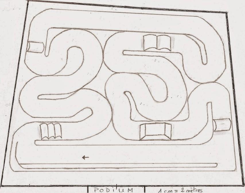 En Construction - Proposition de tracés de pistes pour voitures RC Pistet13