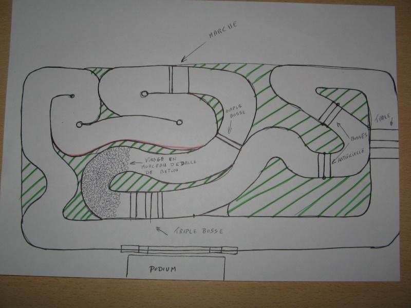En Construction - Proposition de tracés de pistes pour voitures RC Pistet14
