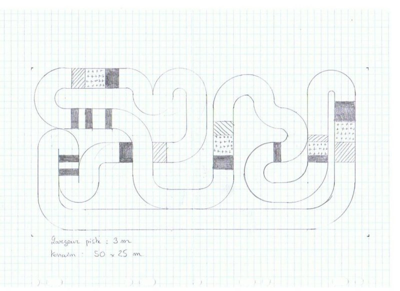 En Construction - Proposition de tracés de pistes pour voitures RC Pistet18