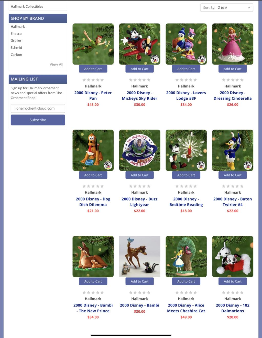 Les suspensions Disney (Disney Store, Disney Parks) - Page 3 4f1ef510