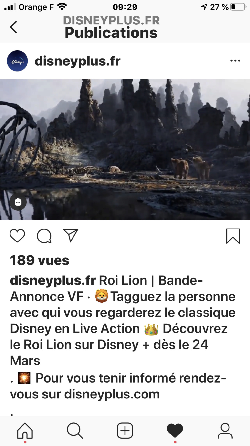 Disney+ : le 24 mars en France pour 6,99€/mois ou 69,99€/an - Page 27 D4a2b210