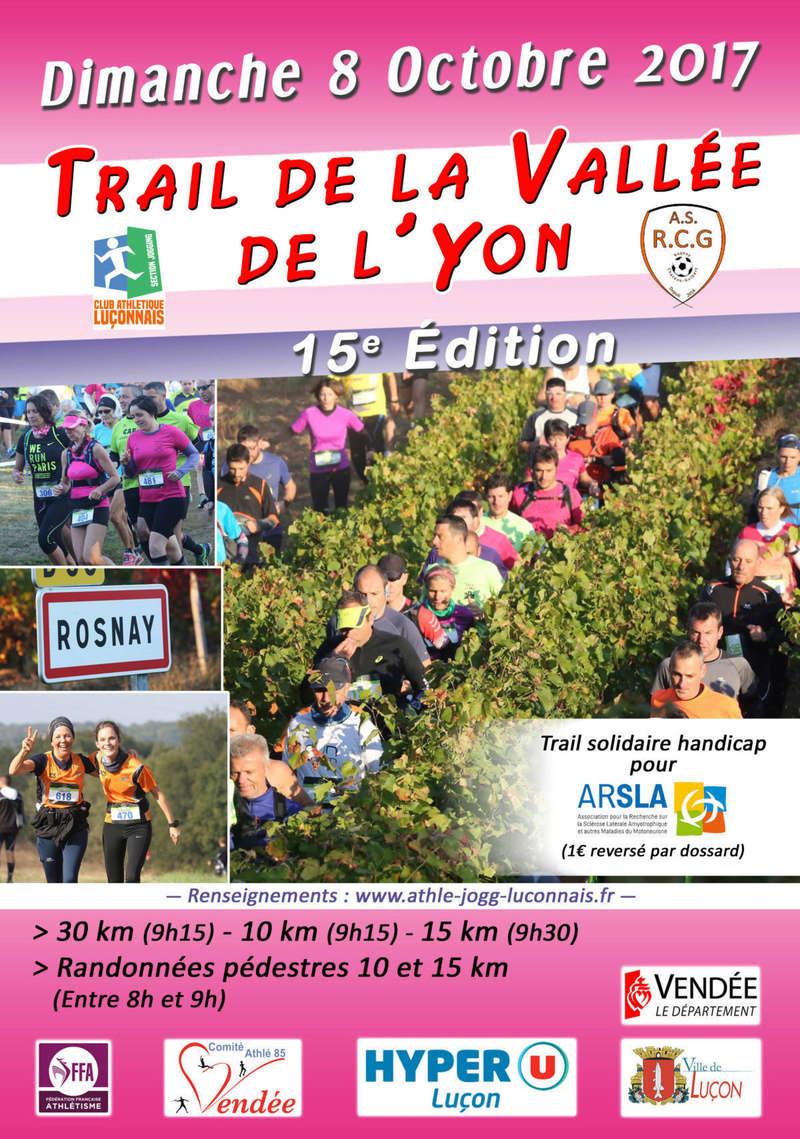 Trail de la Vallée de  l'Yon - Rosnay (85) Page-111