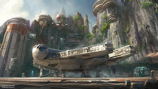 Les news Disney Star Wars: Galaxy's Edge aux Etats Unis (US) D23_0110