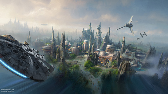 Les news Disney Star Wars: Galaxy's Edge aux Etats Unis (US) D23_0310