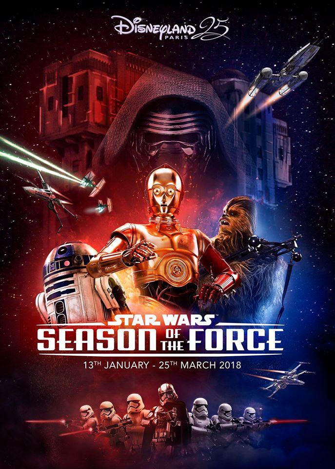 DisneyLand Paris - Star Wars Season Of the force Saison10