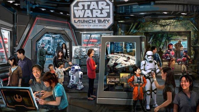 Shanghai Disneyland comprendra une partie Star Wars Star_w10