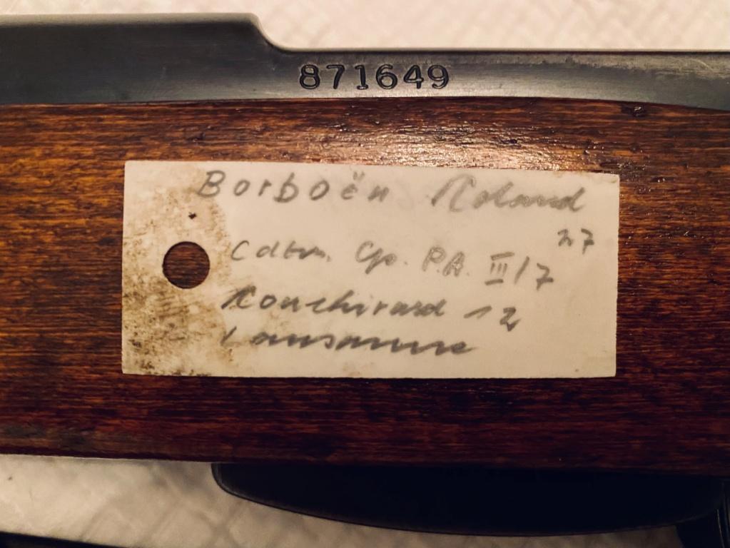 Mousqueton 31 de 1946 : hêtre ou noyer ?  87f69c10