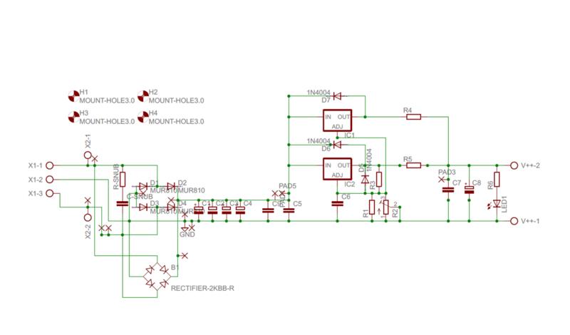 Alimentatore con doppio LT1083 - componenti e assemblaggio - Pagina 2 Schema11
