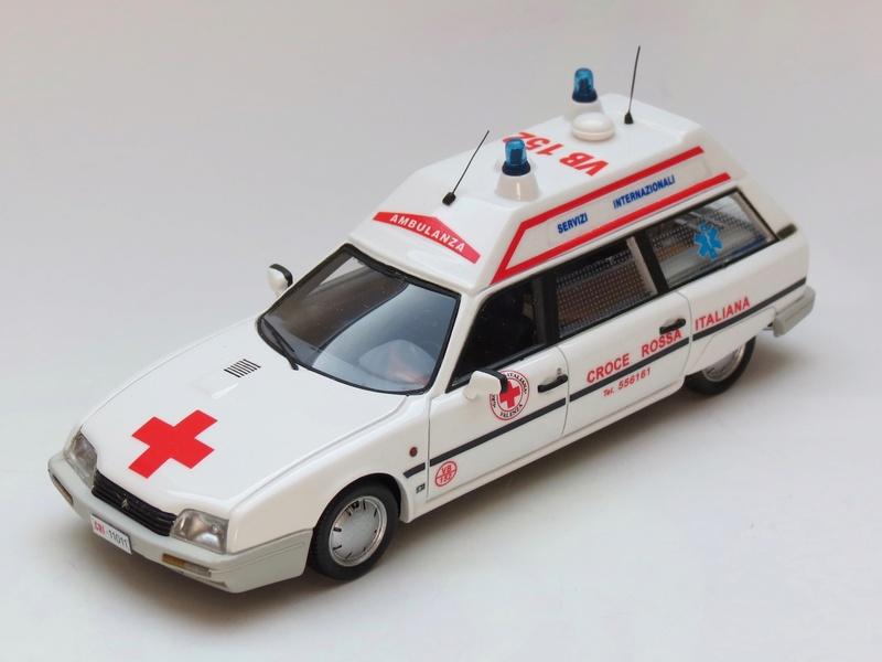"""Citroën miniatures > """"Ambulances, transports de blessés et assistance d'urgence aux victimes"""" 1986_c10"""