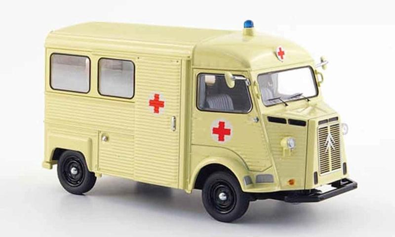 """Citroën miniatures > """"Ambulances, transports de blessés et assistance d'urgence aux victimes"""" Big-6510"""