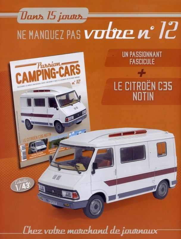"""2017 - Hachette Collections > """"Passion CAMPING-CARS"""" Big-6611"""