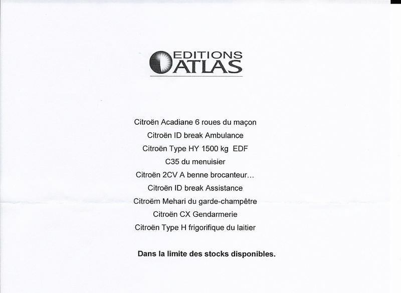 """2015 - Editions ATLAS > """"Les petits utilitaires des artisans et commerçants"""" - Page 2 Collec12"""