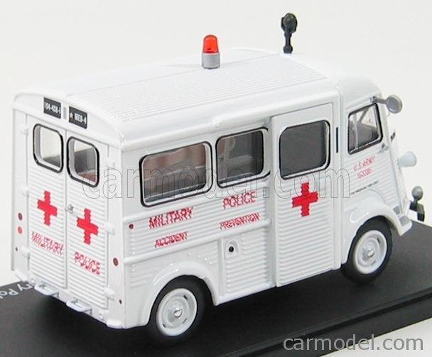 """Citroën miniatures > """"Ambulances, transports de blessés et assistance d'urgence aux victimes"""" Eligor13"""