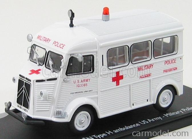"""Citroën miniatures > """"Ambulances, transports de blessés et assistance d'urgence aux victimes"""" Eligor14"""