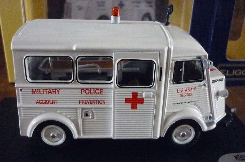 """Citroën miniatures > """"Ambulances, transports de blessés et assistance d'urgence aux victimes"""" Eligor16"""