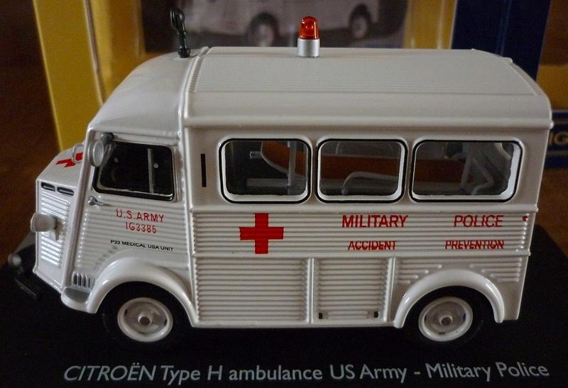 """Citroën miniatures > """"Ambulances, transports de blessés et assistance d'urgence aux victimes"""" Eligor17"""