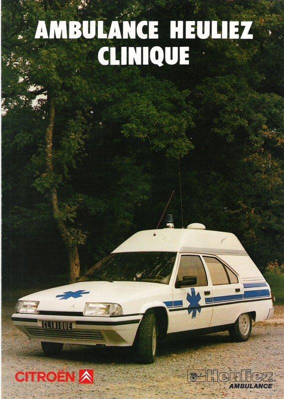 """Citroën miniatures > """"Ambulances, transports de blessés et assistance d'urgence aux victimes"""" Heulie10"""