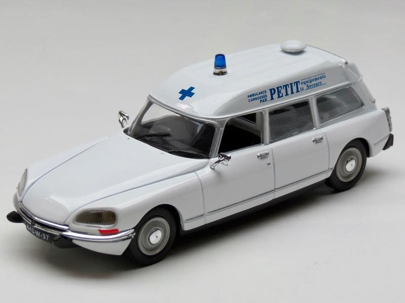 """Citroën miniatures > """"Ambulances, transports de blessés et assistance d'urgence aux victimes"""" Img_2741"""