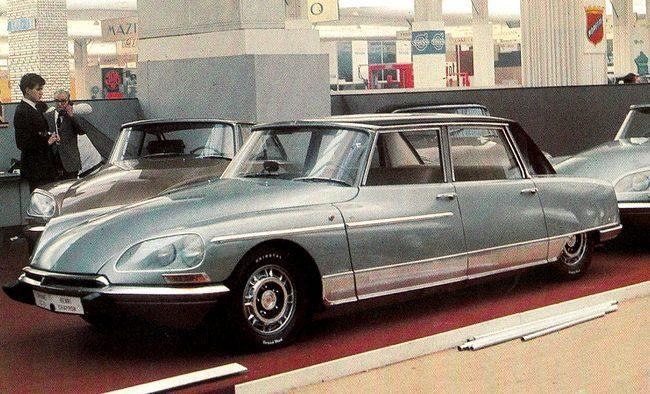 Les Citroën DS d'Henri Chapron Octobr10