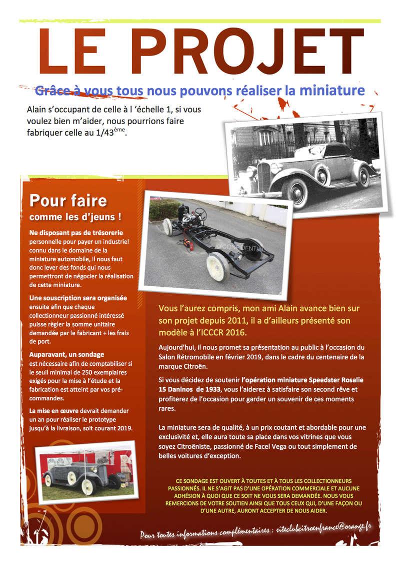 Club Citroën France > Projet : miniature de la Rosalie 15CV de Jean Daninos au 1/43 (2017) Passio11