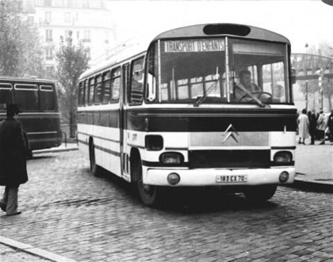 1//43 Ixo citroen Type 60 Heuliez Bus 1962 65