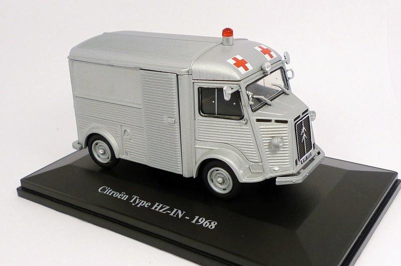 """Citroën miniatures > """"Ambulances, transports de blessés et assistance d'urgence aux victimes"""" Type_h10"""