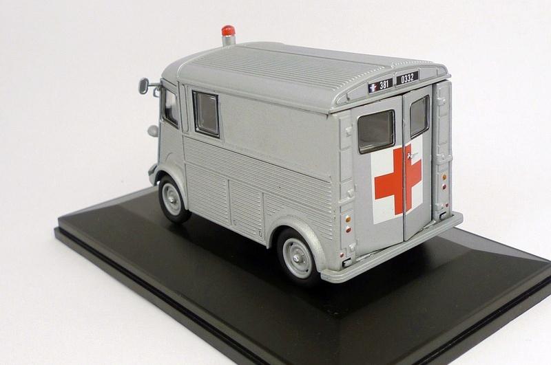 """Citroën miniatures > """"Ambulances, transports de blessés et assistance d'urgence aux victimes"""" Type_h12"""