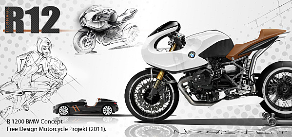 Projet R1200S 'Café Rider' from Marseille Bmw-ca10