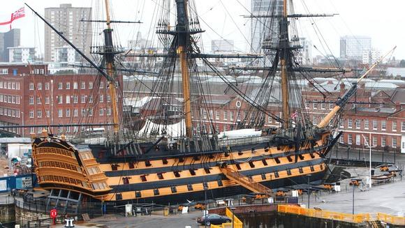 Visite du HMS Victory Hms_im10