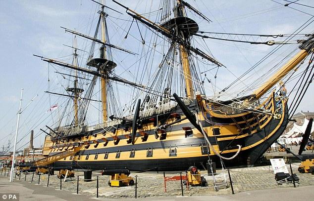 Visite du HMS Victory Hms_vi10