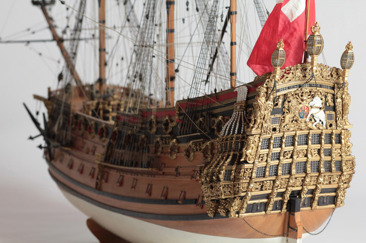 Le HMS Prince 1670 de Constructo au 1/61e de Captain Chris Mile-b10
